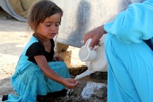 Campo profughi in Iraq