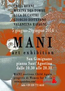 mani pop gallery invito
